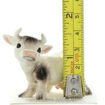 Hagen Renaker Farm Cow Black and White Mama Ceramic Figurine image 2