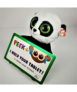 "LARGE Ty PEEK-A-BOO Bear Named ""POO"" - I Hold Your Tablet or iPad! - $13.65"