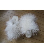 UGG Slippers Fluff Momma Mongolian Shearling Scuffs NEW - $94.05