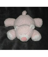 TY PLUFFIES 2005 CUBBY CUDDLES LOVE TO BABY TEDDY BEAR PINK STUFFED ANIM... - $12.86
