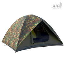 NTK HUNTER GT 8/9 Person Outdoor Dome Woodland Camo Camping Tent - $269.95