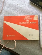 International DT-466 Engine Operation and Maintenance Manual 1171667R2 - $24.18