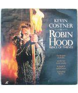 Robin Hood Prince of Thieves on Laserdisc 1991 Movie Kevin Costner - $11.25