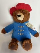 "Paddington Bear Kohls Cares Plush 14"" Teddy Blue Red Hat 2016 With Tags  - $14.80"
