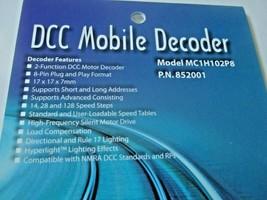 Soundtraxx 852001 MC1H102P8 DCC Mobile Decoder 8-Pin Plug & Play Format image 2