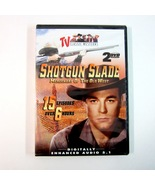 TV Classic Westerns SHOTGUN SLADE 2 Disc DVD with 15 Episodes - Over 6 H... - $4.99