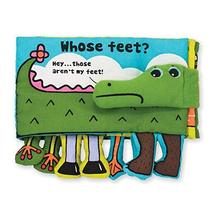Melissa & Doug Soft Activity Baby Book - Whose Feet? - $13.99