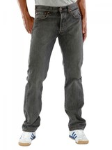 NEW LEVI'S 501 MEN'S ORIGINAL STRAIGHT LEG JEANS BUTTON FLY GRAY 501-6275 image 2