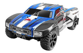 Blackout™ SC PRO 1/10 Scale Brushless Electric Short Course Truck Blue - $217.79