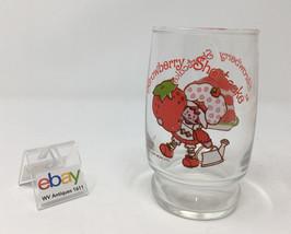 "Vintage Strawberry Shortcake Small Tumbler / Glass - 4"" Tall - Nice! - $8.99"