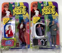 Austin Powers Series 1 Austin Powers and Dr Evil Action FiguresMcFarlan... - $24.49