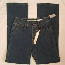 Jones New York Womens Jeans Size 4 Short Mercer Bootcut Cotton Blend Bra... - $37.64