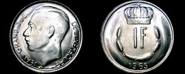 1965 Luxembourg 1 Franc World Coin - $5.99