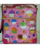 NWT Dooney & Bourke Pink Cupcakes DB Letter Carrier Crossbody Bag - $188.00