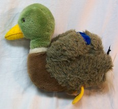 "Dakin 1982 VINTAGE MALE MALLARD DUCK 9"" Plush Stuffed Animal Toy - $19.80"