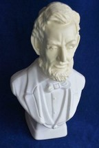 Vintage AVON Lincoln After Shave Bottle Statue Bust 1970's - $4.80