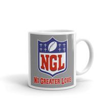 NGL NO greater Love, football,Christian Mug - £11.90 GBP