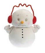 Caffinated 2014 Boyds Bears Dept 56 Snowpinions 8in Christmas Snowman 40... - $19.00
