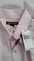 Michael Kors Dress Shirt Light Pink Classic Fit New Tags $145 L Men's - $67.32