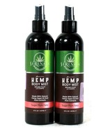 2 Bottles Serenata 8 Oz Premium Natural Hemp Seed Oil Sugar Plum Fairy B... - $36.99