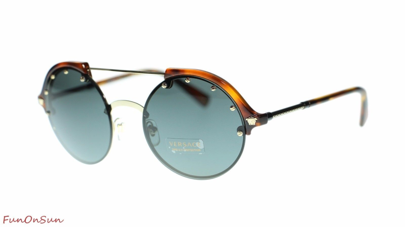 142b98a1300 Versace Round Women Sunglasses VE4337 260 87 and 50 similar items