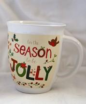 Royal Norfolk Mug Tis the Season to Be Jolly Christmas Holiday 13 oz - $7.92
