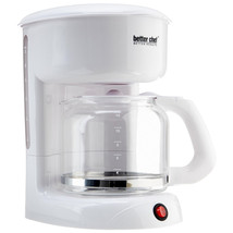 Better Chef 12 Cup White Coffeemaker - $45.80
