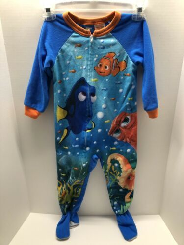 Primary image for 3T Boys Toddler Finding Dory Nemo Disney Fleece Pajamas Jammies Blue Fish