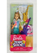 Barbie Team Stacie Doll Music Playset with Guitar Saxophone Brand New in... - $22.76
