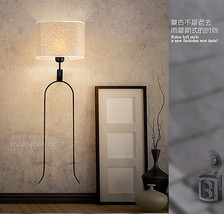 18th Tuning Fork Sconce E27 Light Wall Lamp Home Loft Wallmount Lighting... - $95.60