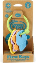 GREEN TOYS First Rattle Keys, MADE IN USA, Age: 0+, KYSA-1037