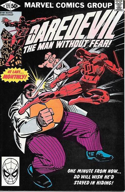 Daredevil Comic Book #171 Marvel Comics 1981 VERY FINE