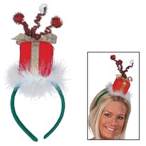 "Felt Present Headbands (6 PACK) Christmas Boppers. 5"" - $10.44"