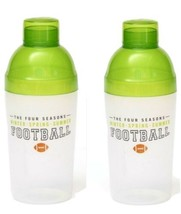 2 Football Game Day Drink Shakers Cactelera Cup Gartner Studios Lot of 2... - $12.95