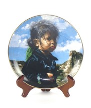 HAMILTON COLLECTION The Proud Nation AM Indian Collector Plate 1988 Mint... - $9.99