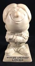 Russ Berries RW Worlds Greatest Lover Man Male Figurine Statue Sculpture... - $9.89