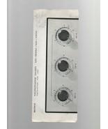 Microphone Mixer - Sony Corporation - MX-600M / MX - 10 KM - Instruction... - $1.27
