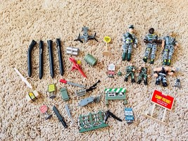 1980's Lanard Military Army Soldier Figure Lot & More - $12.86
