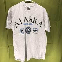 Vintage Anvil Single Stitch Alaska T-Shirt Men's Size Large - $14.84