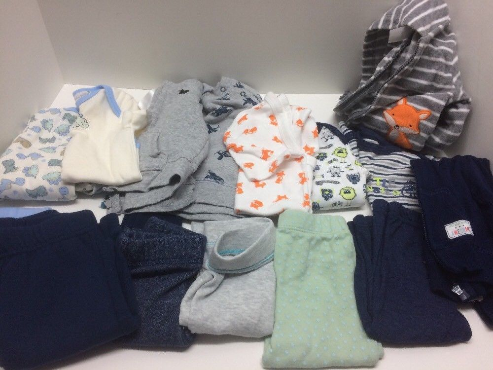 2941a7c42 Simple Joys by Carters Boys 3-Pack Loose Fit Flame Resistant ...