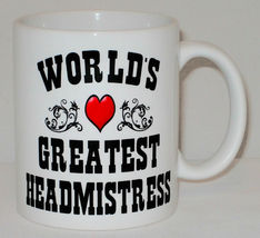 World's Greatest Headmistress Mug Can Personalise Great School Head Principal image 3