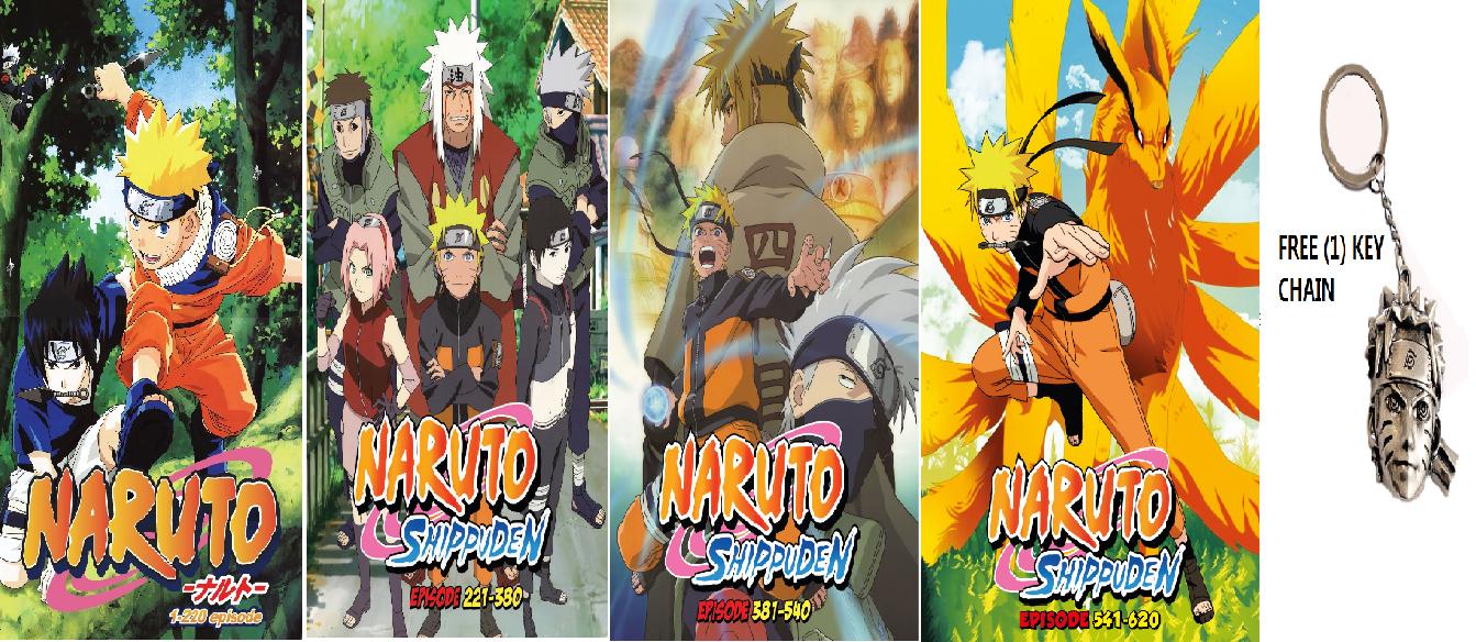 DVD Naruto Box Set ( Episode 1
