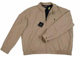 Polo Ralph Lauren Men Beige Tan Khaki Bi Swing Windbreaker Jacket Coat 2... - $99.99