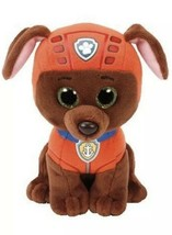 "Ty Beanie Boos Paw Patrol ZUMA Labrador Dog Medium Plush 13"" New with Tags - $17.81"