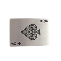 New Jeansfriend Ace Spade Poker Card Enamel Vintage Rectangle Belt Buckle - $8.39