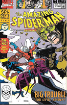 the Amazing Spider-Man Comic Book King Size Annual #24 Marvel 1990 VFN/NEAR MINT - $3.99