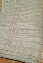 Fieldcrest Ivory Pick Stitch Standard Pillow Sham (1) Cream Sateen - $13.82