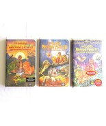 The Land Before Time Vhs 2 3 6 Lot ClamShell Secret of Saurus Rock Great... - $9.99