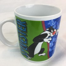 Vintage Warner Brothers Salton Looney Tunes Sylvester Coffee Mug 1998 12... - $14.95