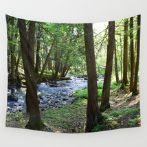 Wall Tapestry Wall Hanging Printed in USA Photo 28 landscape forest wood... - $944,33 MXN+